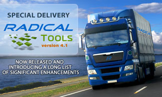 Radical Tools 4.1 Now Available
